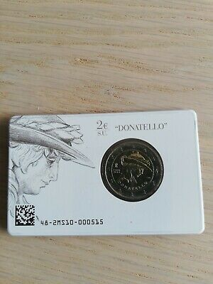 2 Euro commémorative CC de Italie 2016 Brillant Universel (BU) - Donatello