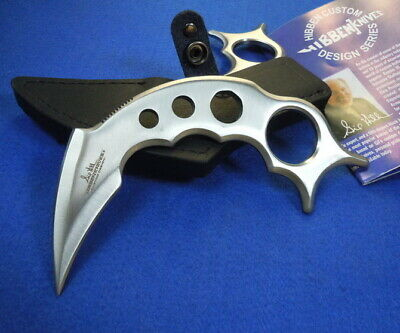 "United 6"" Tactical Combat Claw Karambit Knife Taschenmesser & Leather Sheath"