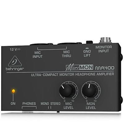 Behringer Micromon Ma400 Musical Compact US SELLER New