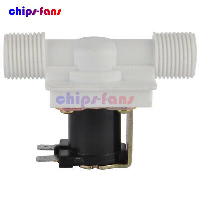 """1/2"""" N/C DC 12V Magnetic Electric Solenoid Valve Water Air Inlet Flow Switch"""