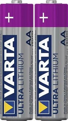 Batteria Stilo (AA) Litio Varta Ultra FR6 2900 mAh 1.5 V 2 pz.