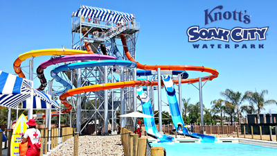 Knott's Soak City Water Park - One-Day Admission Ticket - Buena Park, California
