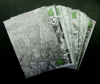 Mars Attacks Occupation**Pencil Art Cards**Choose The Numbers You Need***