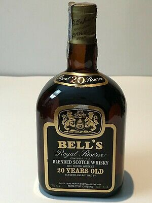 BELL´S ROYAL RESERVE 20 YEARS OLD BLENDED SCOTCH WHISKY 75cl. 43%