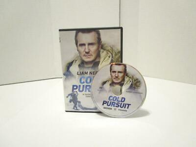 PRE-VIEWED Cold Pursuit (DVD, 2019) Rated R starring Liam Neeson