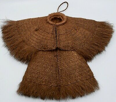 Chinese Coconut Fiber baby or monkey Raincoat finely Woven unique & unusual