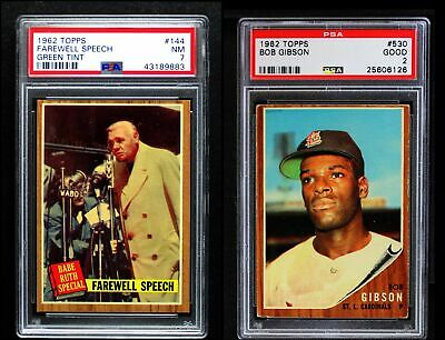 1962 Topps Baseball Complete Master Set - 691 Cards GD+