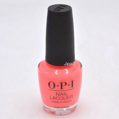 OPI Nail Polish Neon Collection NLN71 Orange You a Rock Star? 0.5 oz