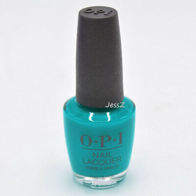 OPI Nail Polish Neon Collection NLN74 Dance Party Teal Dawn 0.5 oz