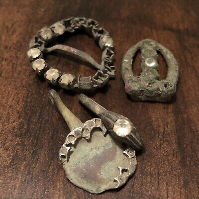 4 Rare Authentic European Artifacts Found With A Metal Detector All With Stones
