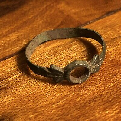 Medieval Ring Byzantine Empire North Knight European Jewelry Artifact Authentic