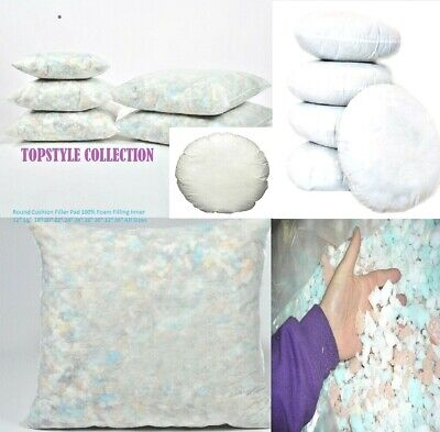 "12''x 16"" 18"" 20"" 22"" 24"" Foam Filled Cushion Pads Inserts Fillers Inner floor"