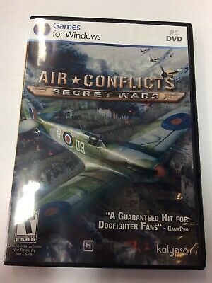 AIR CONFLICTS: SECRET Wars PC WWII Flight simulator Game