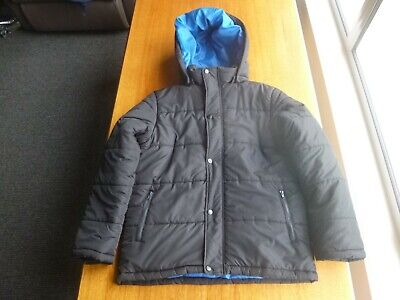 Boys Wild Country Thick Insulated Jacket With Removable Hood - Size 12