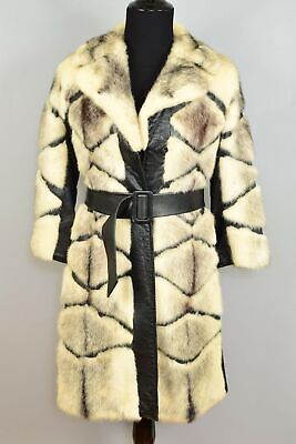 Mink Coat with Leather Trim - 45 years old - Insurance Value