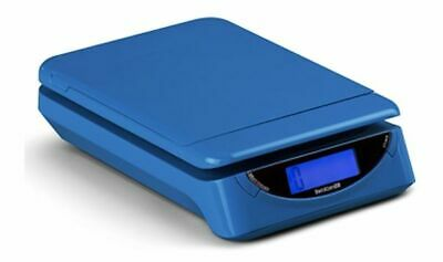 Brecknell  PS25 Electronic Portable Postal Parcel Scale 25 lb x 0.2 oz, Blue