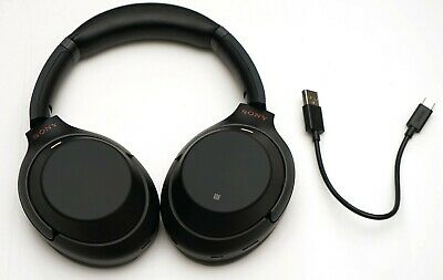 Sony Wh-1000Xm3/B Wireless Noise Cancelling Stereo Headphones Black Wh-1000Xm3