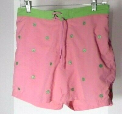 281f6e5a75 Lands End Girls Swim Board Shorts Bottoms w/Panty Attached Sz 16+ NWT
