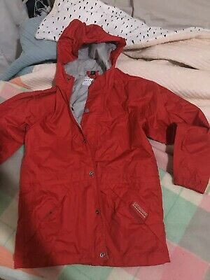 Kathmandu Unisex Childrens Lightweight Raincoat Size 6 As New Condition Size 8