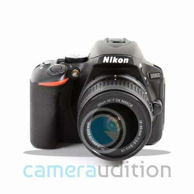 Brandneu Nikon D5600 Digital SLR Camera + AF-P DX Nikkor 18-55mm f/3.5-5.6G VR