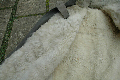 Sheepskin lined Swedish Army Coat - vintage but probably unworn