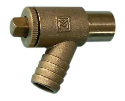 15mm brass draw-off cock A-type 15mm