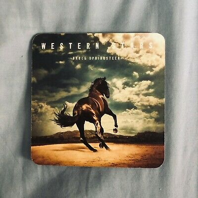 Bruce Springsteen Western Stars Promotional Beer Mat / Coaster Brand New