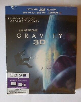 BLURAY GRAVITY 3D Ultimate Edition - NEUF SOUS BLISTER