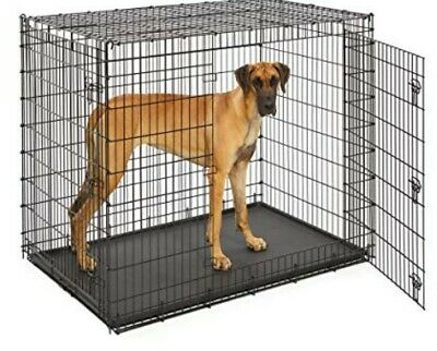 "XXL 54"" Dog Crate for Giant Breeds"