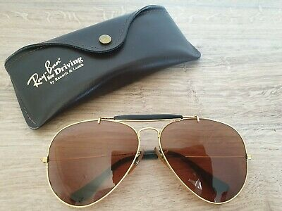 Vintage B&L Ray-Ban USA W1665 Driving Series Sunglasses by Bausch and Lomb 62 mm