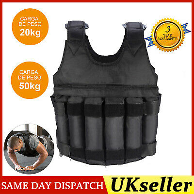 20kg Great for Calist Fully adjustable 15kg Gravity Fitness Weighted Vest