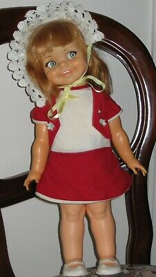 66 IDEAL GIGGLES Doll -Party Girl Flirty Eyes All Directional Head Moves GEELONG