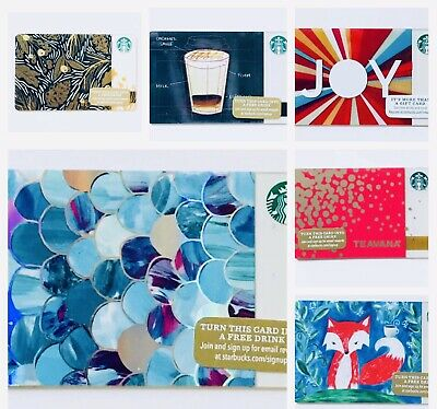 2015 STARBUCKS US PICK YOUR Holiday Christmas Gift Cards Collections Rare HTF