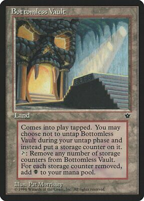 Bottomless Vault Fallen Empires NM Land Rare MAGIC THE GATHERING CARD ABUGames