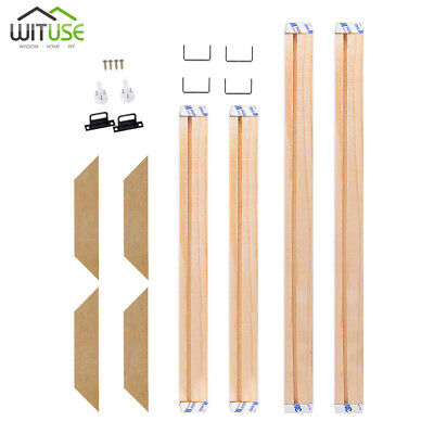 stretcher strips premium pine wood bars for canvas art gallery wrapped frame AD