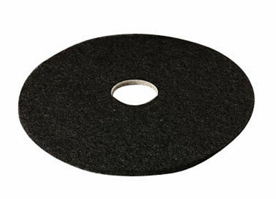 """3m Floor Pad Automatic, Black Stripper 17 """" Dia 7200 Series Boxed Pack of 5"""