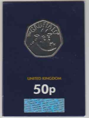 2019 Royal Mint Gruffalo Fifty pence Coin 50p BU  Brilliant Uncirculated