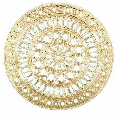 "Ebros Assisi Cathedral Rose Window Ornament 2.75""Diameter"