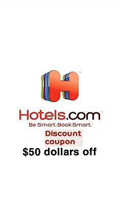 Hotels.com up to $50 Off  Promo code Hotels com Booking Discount Save Travel