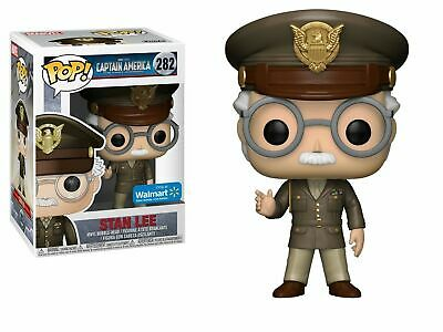 Funko Pop! Marvel STAN LEE Captain America The First Avenger Walmart EXCLUSIVE