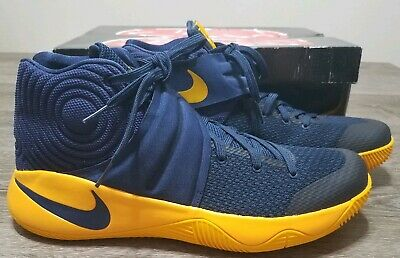 best loved d9d42 c6de6 NIKE KYRIE 2 Cavs Play offs Edition Sneakers Midnight Navy 819583-447 Sz 12