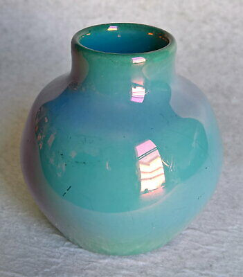 """Vintage """"ST. LUKAS UTRECHT POTTERY"""" Small Cabinet Vase – Made in Holland"""