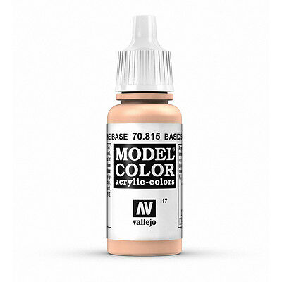 Vallejo Model Color: Basic Skin Tone - VAL70815 Acrylic Paint 17ml Bottle 017