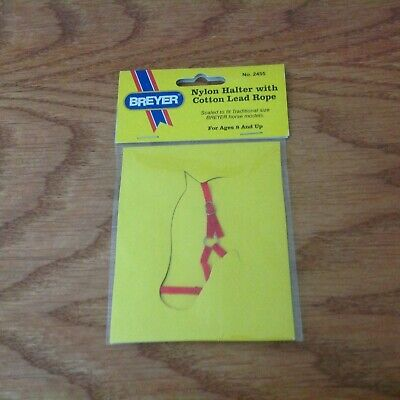Breyer Nylon Halter with Cotton Lead Rope Free Shipping