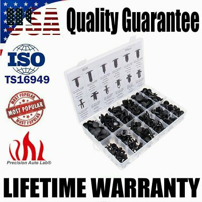 330 Clips Car Push Pins Retainers Assortment For GM Toyota Honda Ford Mercedes