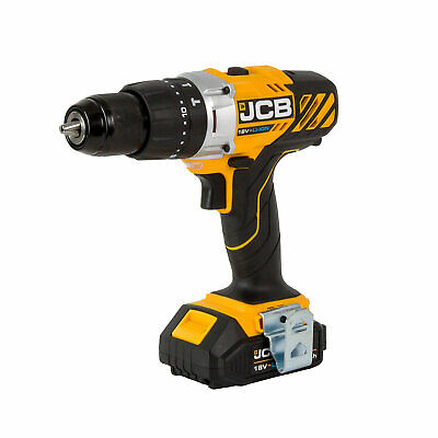JCB Cordless 18V 2Ah Lithium-ion Brushed Combi drill JCB-18CD-2 BRAND NEW