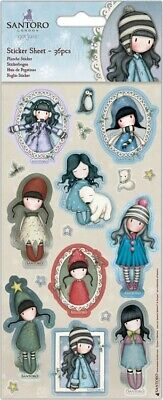 Santoro'S Gorjuss Sticker Sheet 36/Pkg