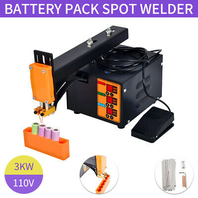 Spot Welder 110V 3KW Battery Spot Welding Machine for 18650 Battery Pack