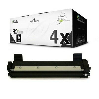 4x MWT pro Toner Compatibile con Brother MFC-1815 MFC-1810 DCP-1616-NW HL-1110-R