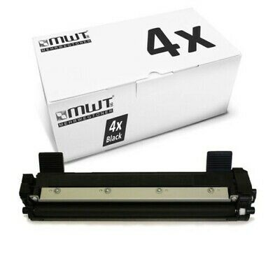 4x MWT Toner Compatibile con Brother HL-1110-E HL-1212-W MFC-1815 DCP-1601